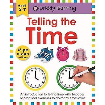 Talande tiden: torka ren arbetsböcker (torka ren arbetsböcker)