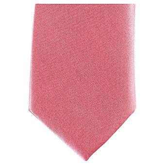 Knightsbridge Neckwear Skinny Polyester Tie - Light Pink