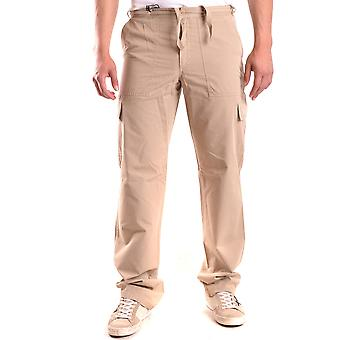 Alberto Aspesi Ezbc067093 Men's Beige Cotton Pants