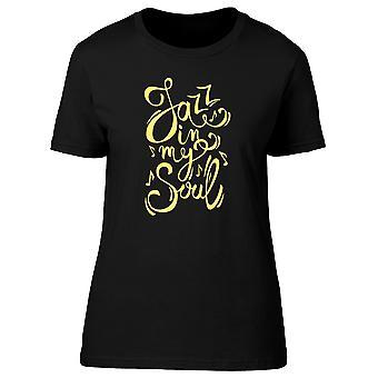 Jazz In meine Seele T-Shirt Herren-Bild von Shutterstock