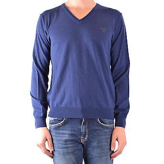 Gant Ezbc144003 Uomini's Maglione di lana blu
