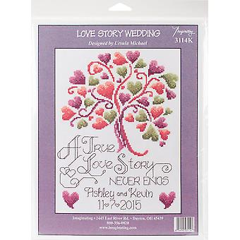 Imaginating Counted Cross Stitch Kit 7.5