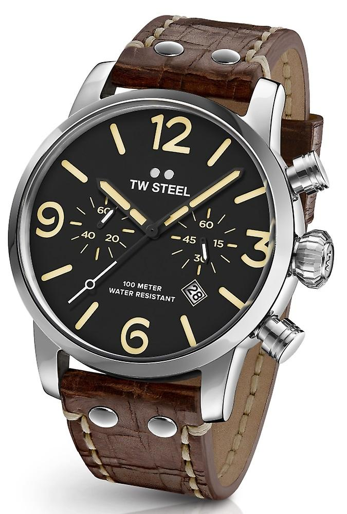 TW Steel Ms4 Maverick Chronograph Watch 48 Mm