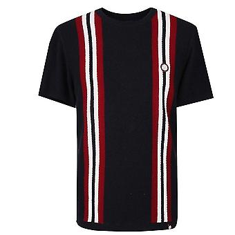 Pretty GREEN Chest T-shirt tricoté rayé