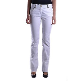Just Cavalli Ezbc141025 Mujeres's Pantalones de Algodón Blanco