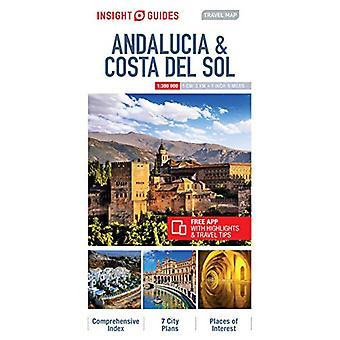 Insight Guides Travel Map Andalucia & Costa del Sol - 97817867190