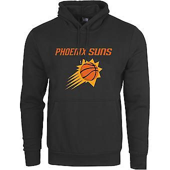 Uusi aika kausi fleece huppari-NBA Phoenix Suns musta