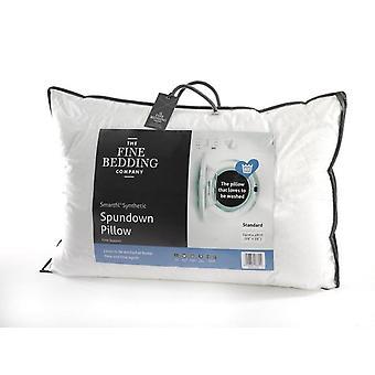 The Fine Bedding Co Spundown Pillow Firm Support Non Allergenic Smartfil Fibre