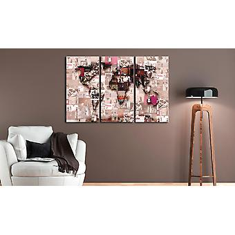 Painting - Inspired Banksy Graffiti Collage90x60