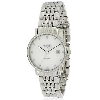Longines Elegant Collection Stainless Steel Automatic Ladies Watch L43100876