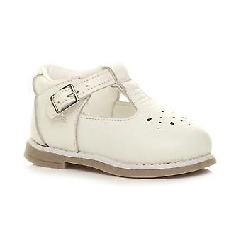 Ajvani meisjes Childrens baby peuter lage hak lederen t-Bar flexibele partij schoenen