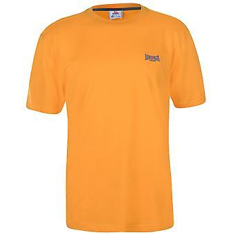 Lonsdale mens Plain tee topp T-shirt T shirt Kortärmad besättning Neck