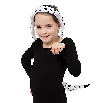 Bristol Novelty Childrens/Kids Dalmatian Set