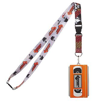 Lanyard - A Clockwork Orange - w/molded VHS ID Holder New la76p5clo
