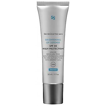 Brightening Uv Defense Spf30 - Anti Uva-uvb Photoprotective Moisturizing Care To Unify The Dyed
