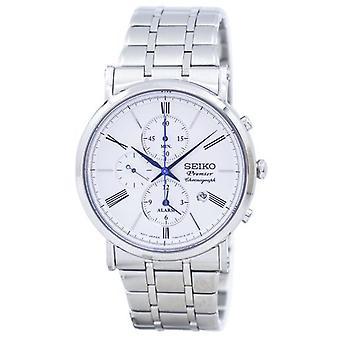 Seiko Premier Chronograph alarm Quartz Snaf73 Snaf73p1 Snaf73p muži ' s hodinky