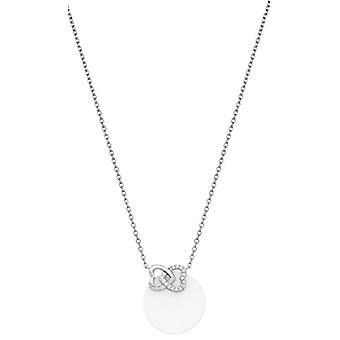 Ceranity Woman 925 zilver wit ei rits YAWNECKLACEBRACELETANKLET 1-72/0044-B