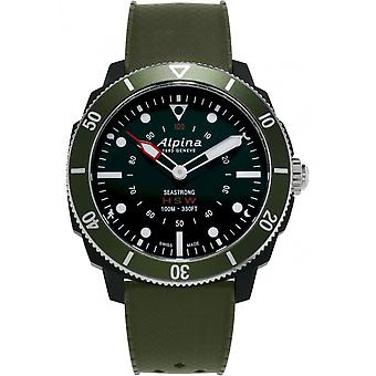 Alpina-SmartWatch-Alpina Seastrong Horologic verde-AL-282LBGR4V6