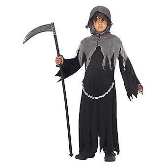 Pojat Grim Reaper Fancy Dress puku Halloween