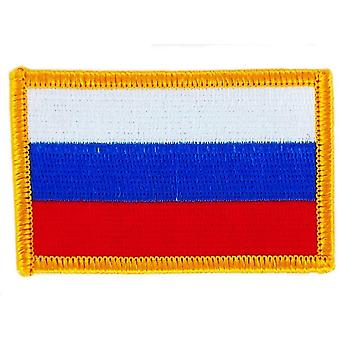 Patch Ecusson brode flag russisk russisk flag termo Collant Insigne Blason