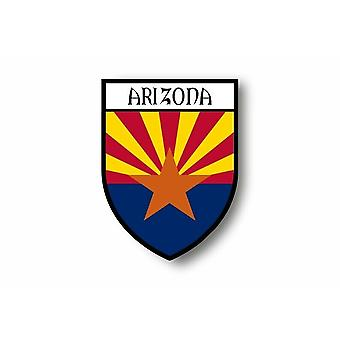 Sticker Sticker Sticker Motorcycle Car Blason City Flag USA Arizona