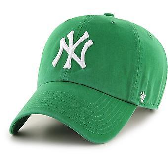 47 značka uvoľnená fit Cap-MLB New York Yankees Kelly zelená