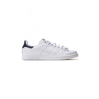 Adidas - Scarpe - Sneakers - M20325_StanSmith - Unisex - bianco, blu scuro - Regno Unito 5.5