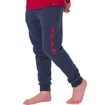 Animal Boys Crosby Elasticated Waist Casual Jogging Bottoms Sweatpants - Blue