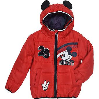 Boys HS1306 Disney Mickey Mouse Winter Hooded Jacket