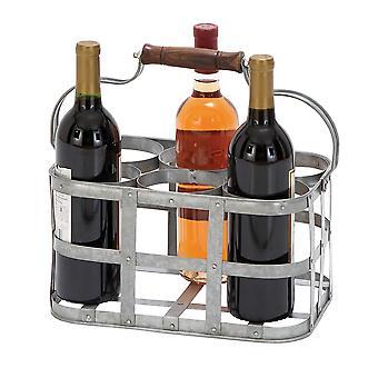 Unique Metal Wine Holder
