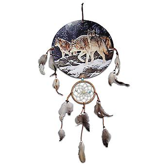 Tre Wolves Dreamcatcher