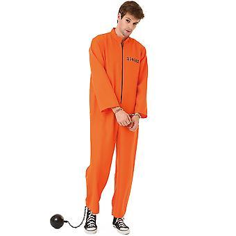 Conniving Convict Adult Costume, XXL
