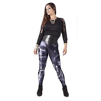 Wb anne stokes - gothic skulls - leggings