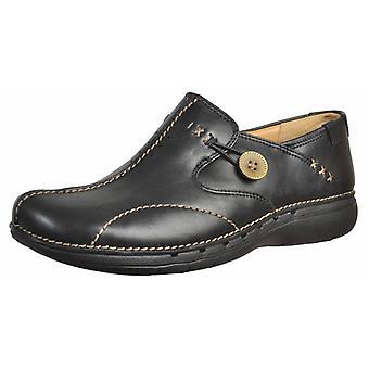 Clarks casual schoenen een Llop kleur zwart