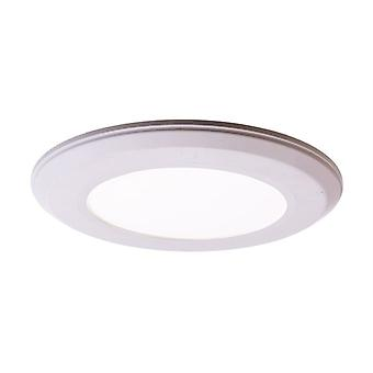 Led ceiling lamp Flat 6 6W 4000K dimmable dia. 118mm white