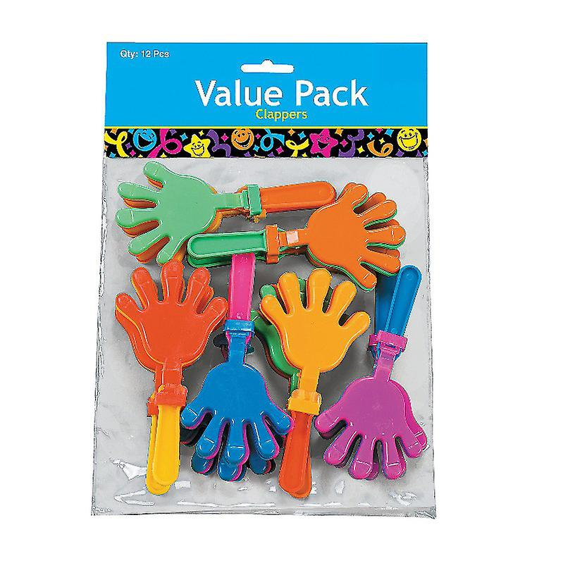 Pack of 12 Hand Clappers