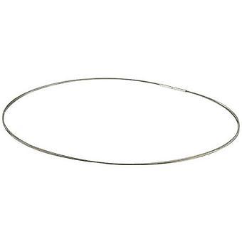 Ti2 Titanium Multi Strand Stainless Steel Necklace - Natural