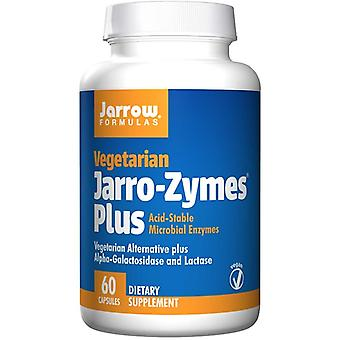 Jarro-Zymes Plus Vegetariánské (60 vegetariánské kapsle) - Jarrow Vzorce