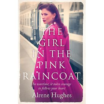 Girl in the Pink Raincoat by Alrene Hughes