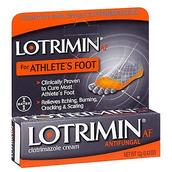 Lotrimin af antifungal athlete's foot clotrimazole cream, 0.42 oz