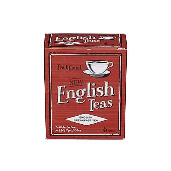 Vintage english breakfast tea 6 teabag carton
