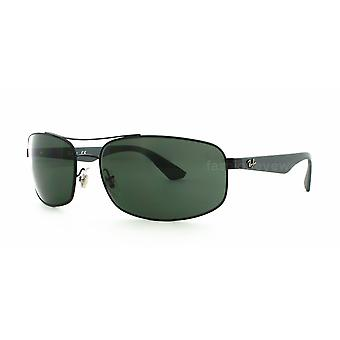 Ray-Ban RB3527 006/71 Matte Black/Grey Green Sunglasses