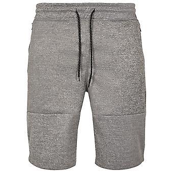 Southpole Men's Sweatshorts Zipper Pocket Marled Tech Fleece