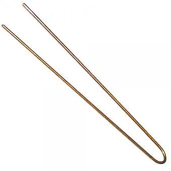"""Haarwerkzeuge 3"""" schlichte Pins blond (Box von 500)"""