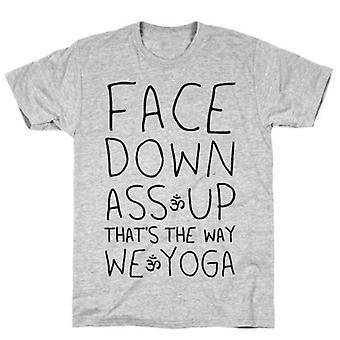 Gesicht nach unten Arsch T-shirt