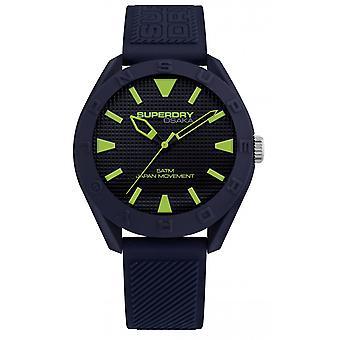 SYG243U - watch Osaka Silicone Blue Man