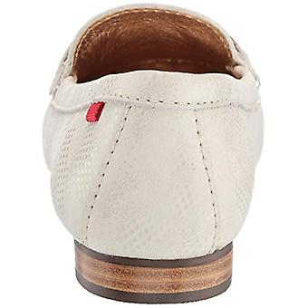 MARC JOSEPH NEW YORK Womens Leather Grand Street Loafer Driving Style, Ivory ...