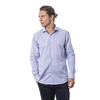 Men's Roberto Cavalli Light Blue Long Sleeve Shirts