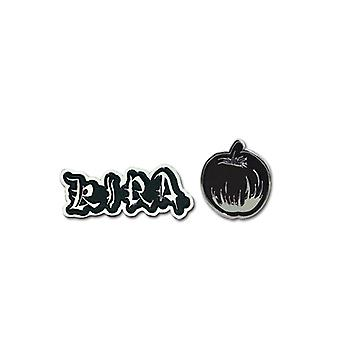 Pin Set - Death Note - New Kira & Apple (Set of 2) Toys Gifts Anime ge7484