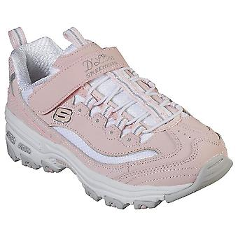 Skechers Infant Girls D'lites Trainers - Crowd Appeal